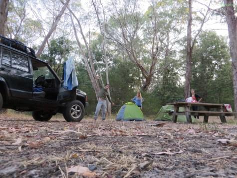 Unser erstes Camp!