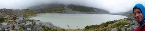 Geltschersee vom Hooker Gletscher