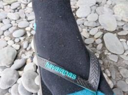 Die ganzen Socken voller Sandfliegen
