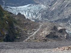Der Berg und der Gletscher