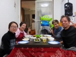 koreanisches Abendessen