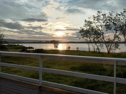 Sonnenaufgang vom Haus am See
