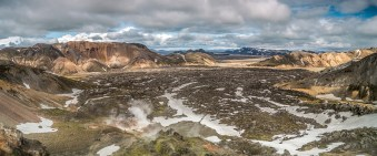 Landmannalaugar - Blick vom Brennisteinsalda