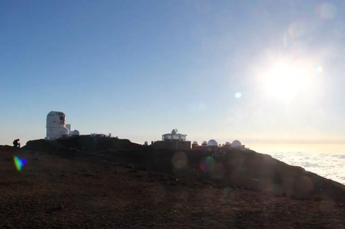 Das Science Center auf dem Haleakala-Vulkan
