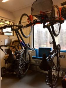 Fahrradtransport-Bahn