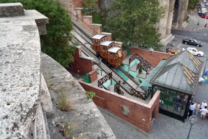 Standseilbahn Siklo in Budapest