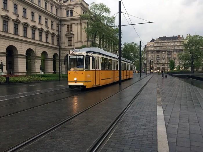 Strassenbahn-Linie-2-Budapest