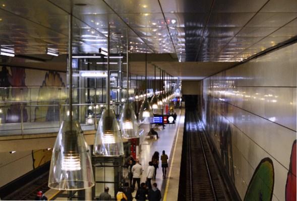 Fototour entlang der Münchner U3: Moosach ist der Endhaltepunkt der U3