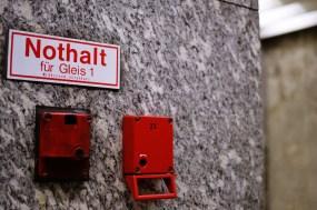 Fototour entlang der Münchner U3: Nothalt am Petuelring