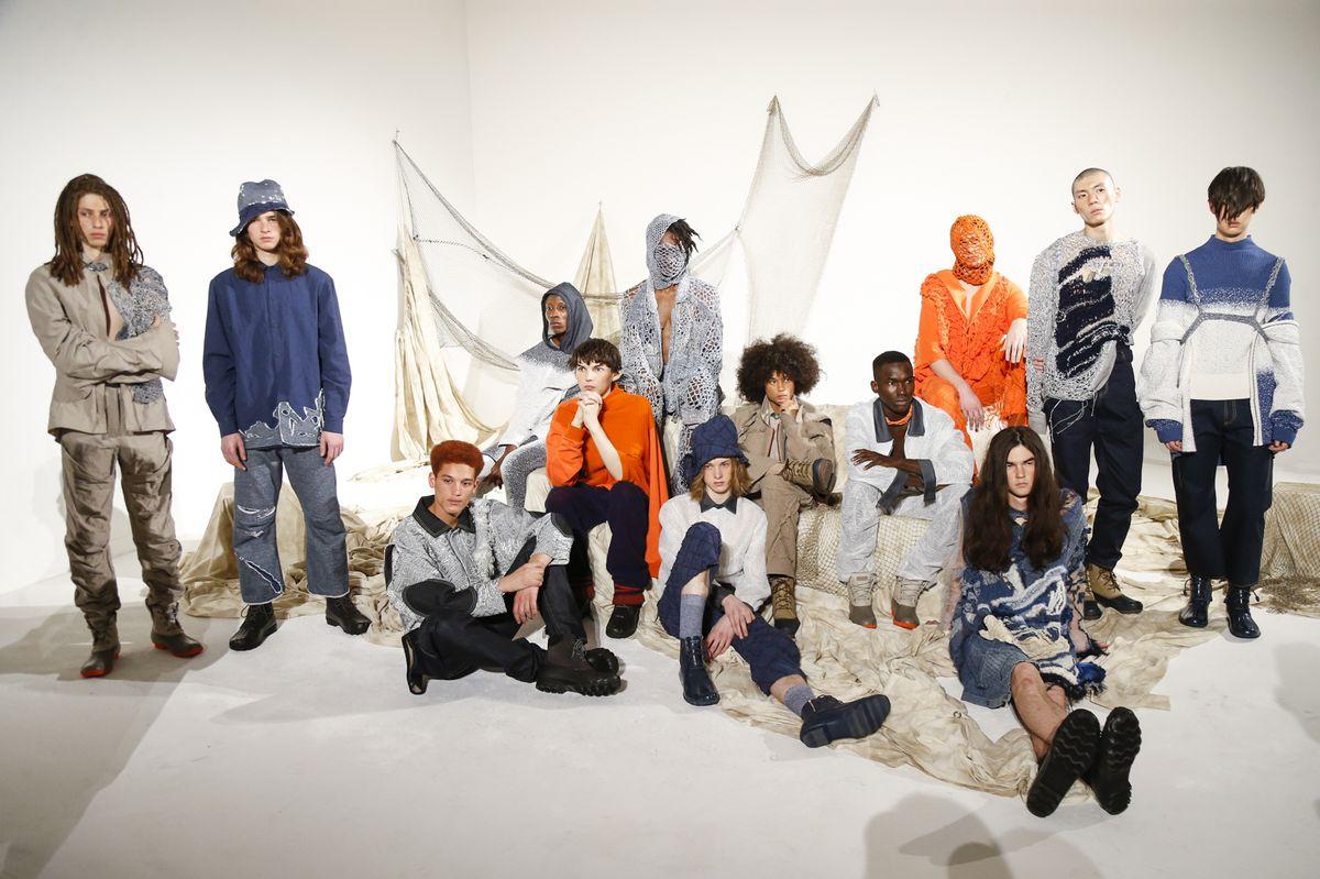 A/W19,Knitwear, Fabric, Yarn, NYFW,NYMD, Woman Designer, HongKingDesigner