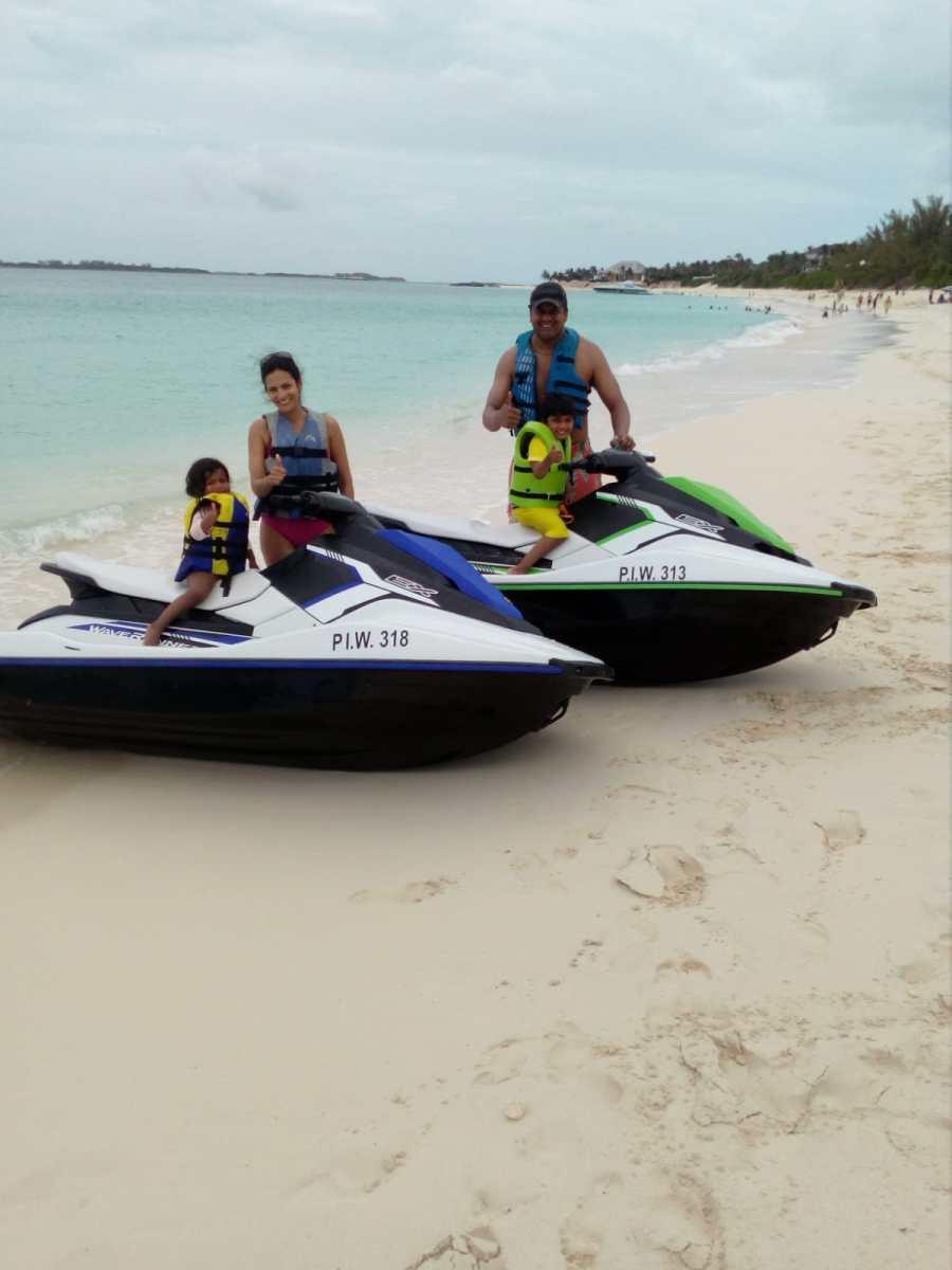 Bahamas-jetskiing