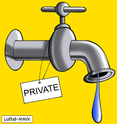 Private water