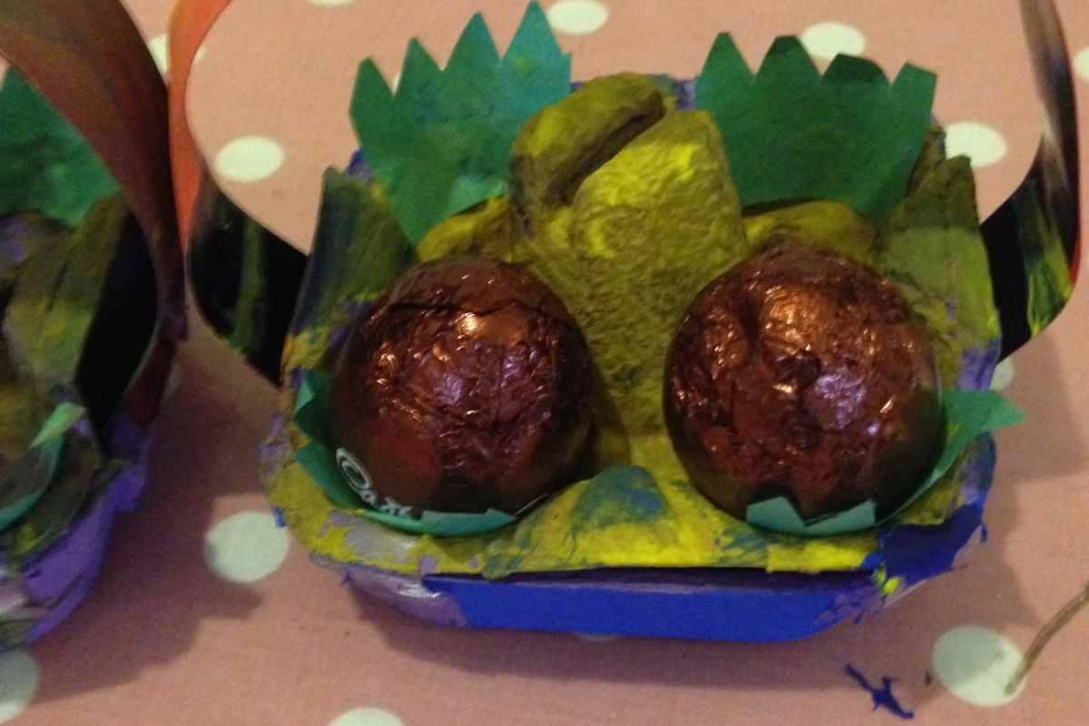easy easter egg basket