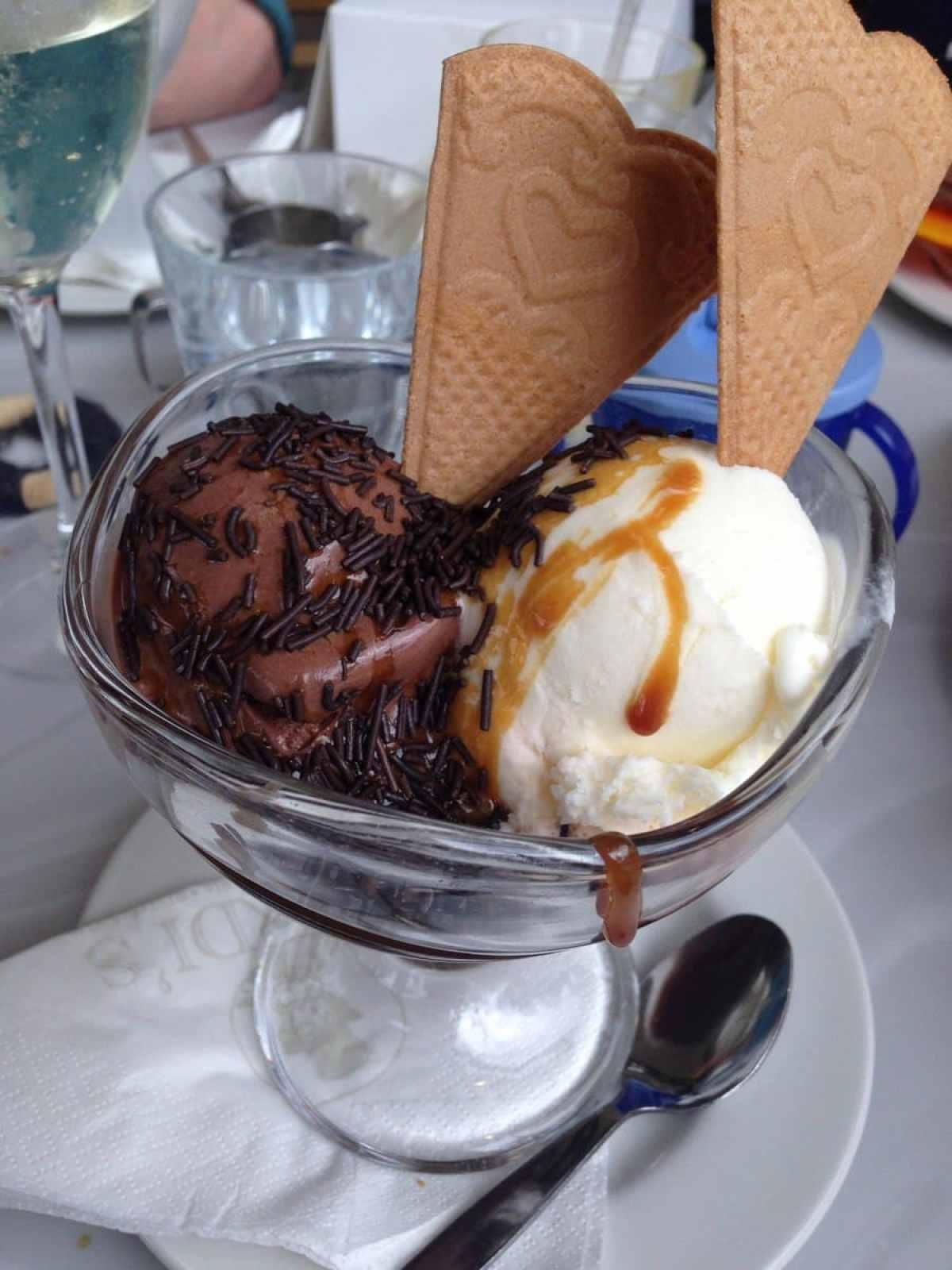 ice cream sauce
