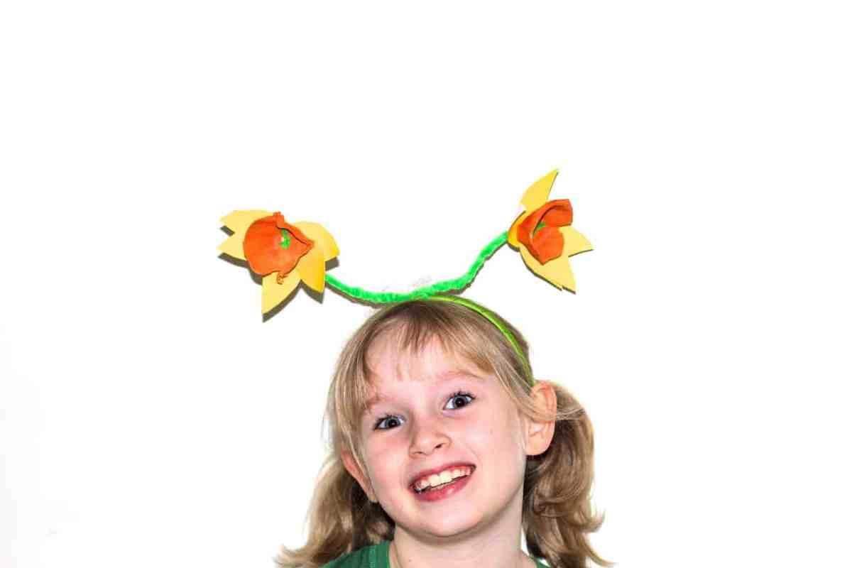 daffodil headband tutorial