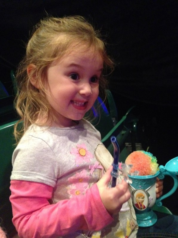 disney on ice snow cone