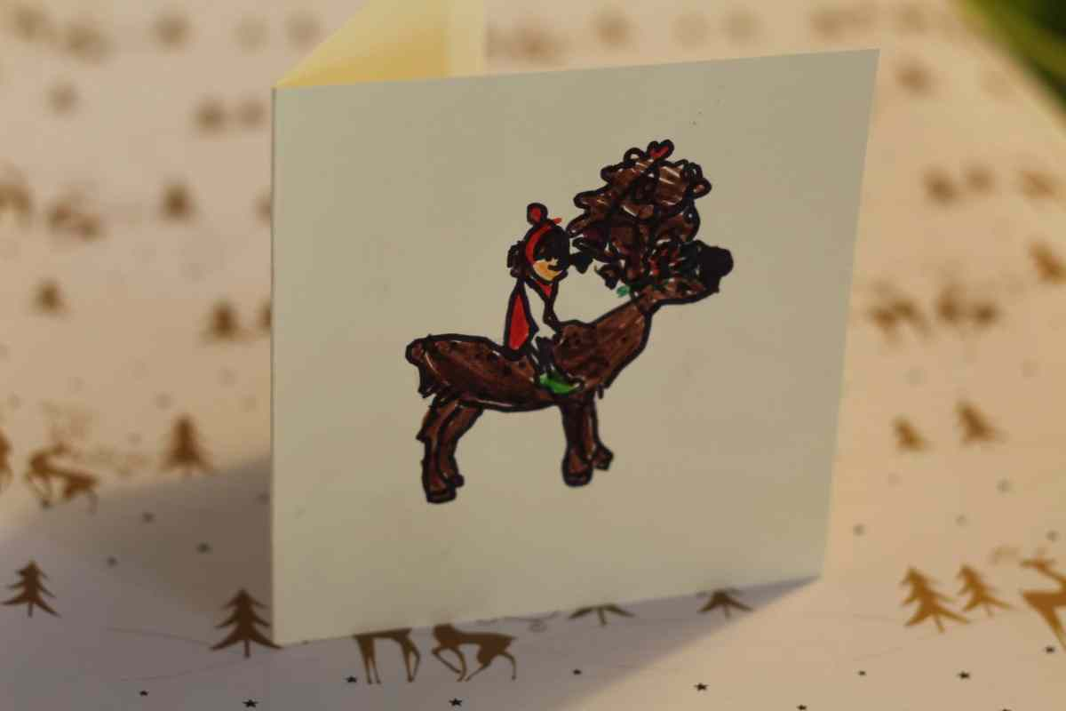 belle and boo christmas cards