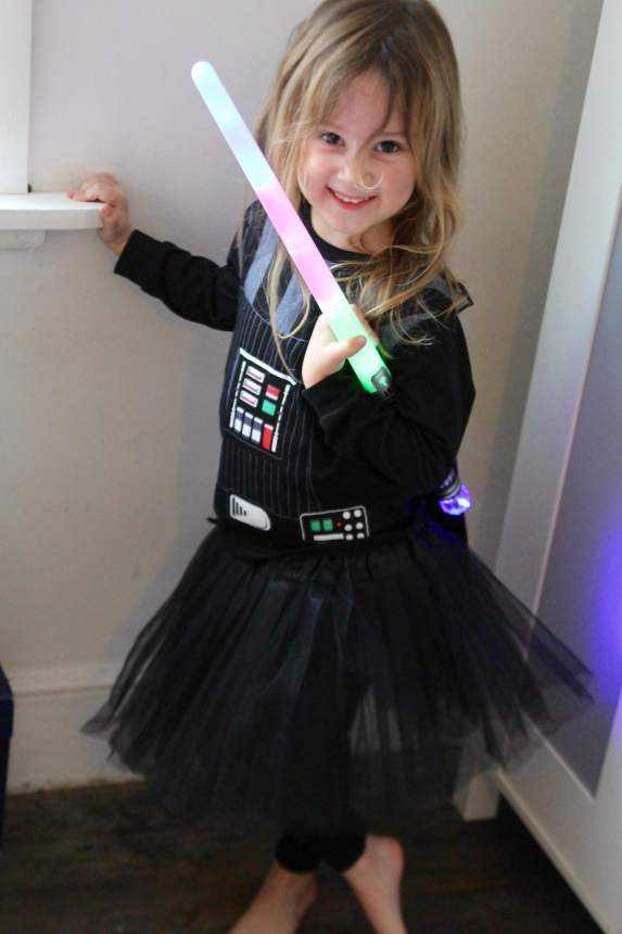girls darth vader costume