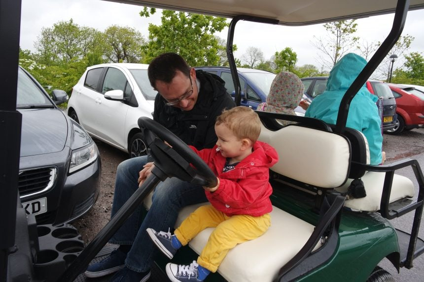 bluestone golf buggy