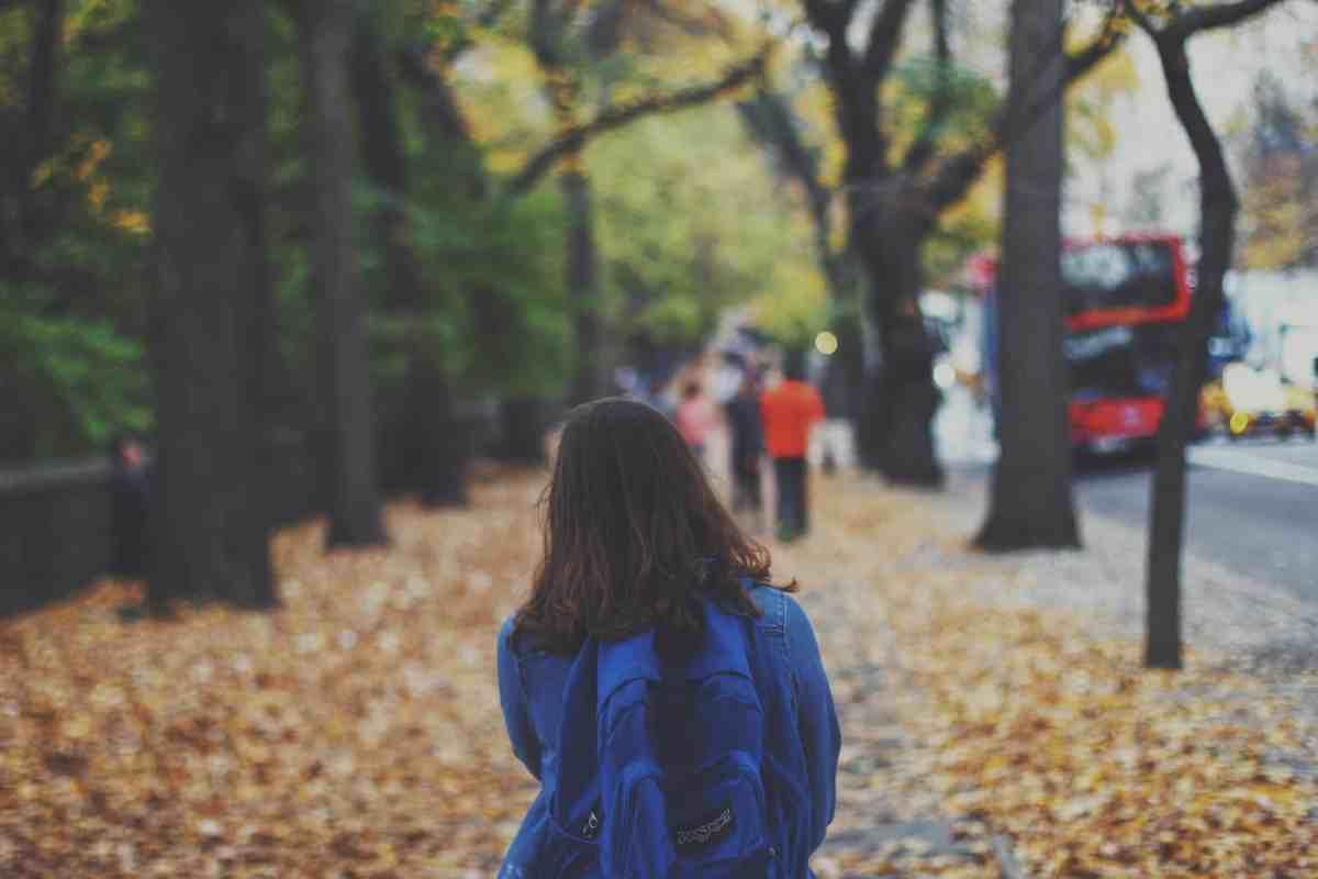 walking to secondary school