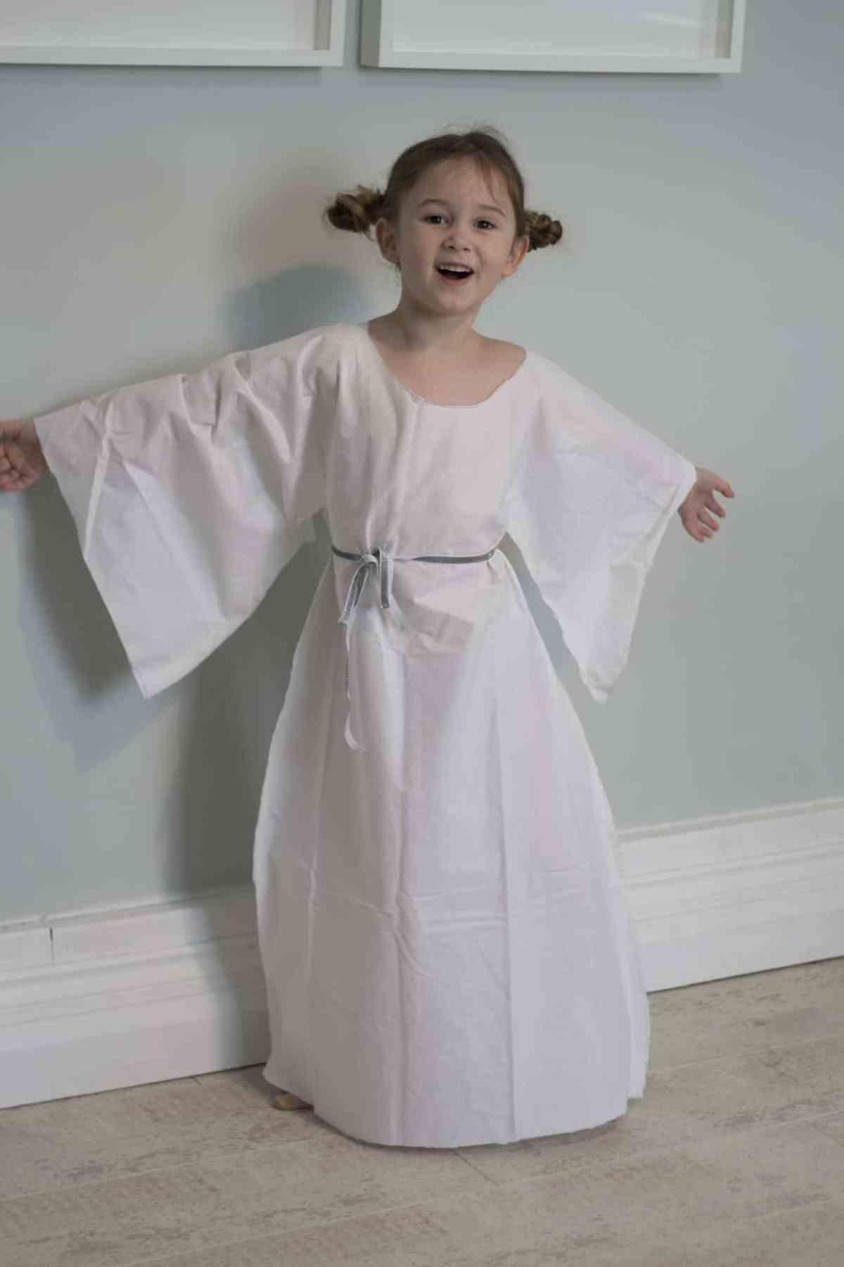 No Sew Princess Leia Costume