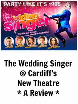 wedding singer theatre review