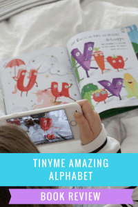 tinyme amazing alphabet book review
