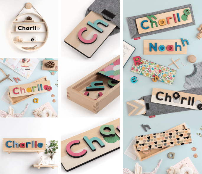 TinyMe Personalised Name Puzzle Review & Giveaway