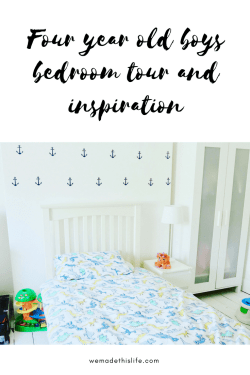 four year old boys bedroom tour and inspiration