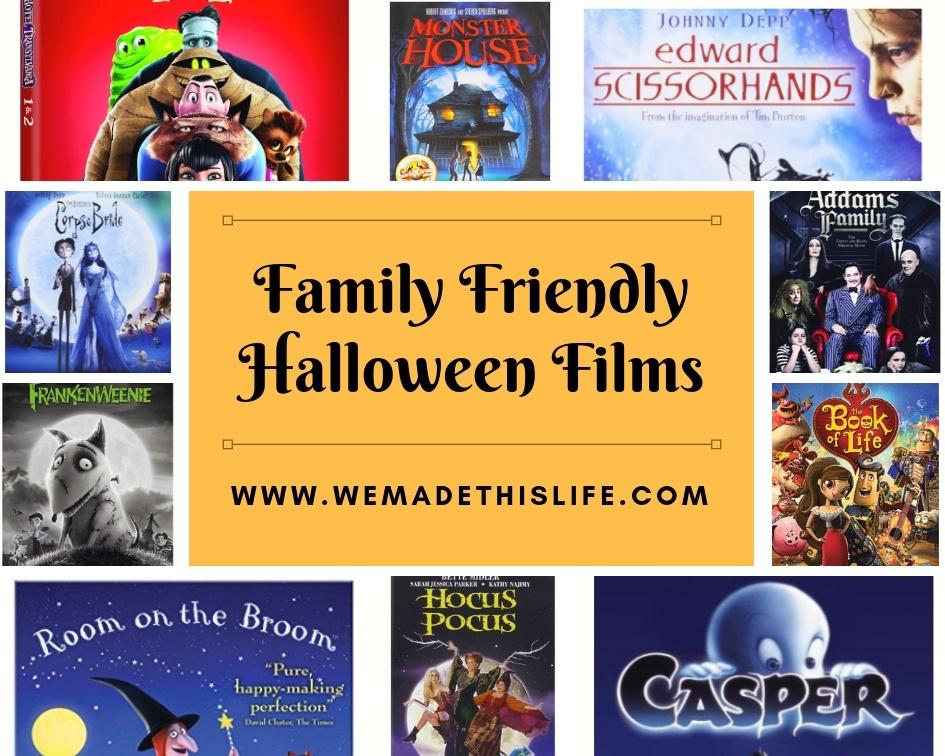 12 Family Friendly Films For Halloween