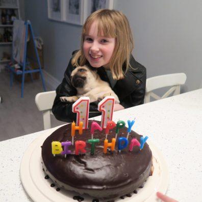 E turned 11!