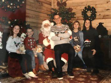 We met Santa!