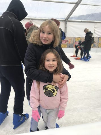 Miss J learnt to skate!