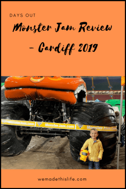 Monster Jam Review - Cardiff 2019