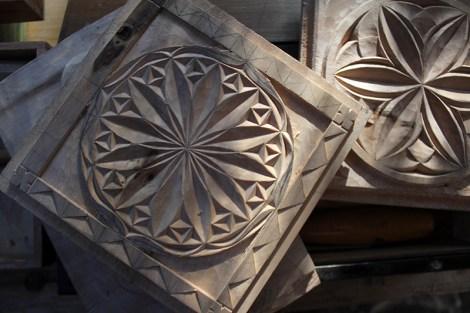 Decorative Wood Carving
