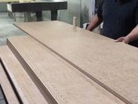 Man making cabinets