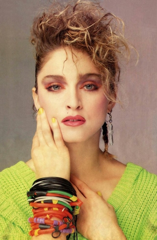 80S Eye Makeup Tinklesmakeup Eye Makeup Look 80s Icon Series 4 Madonna