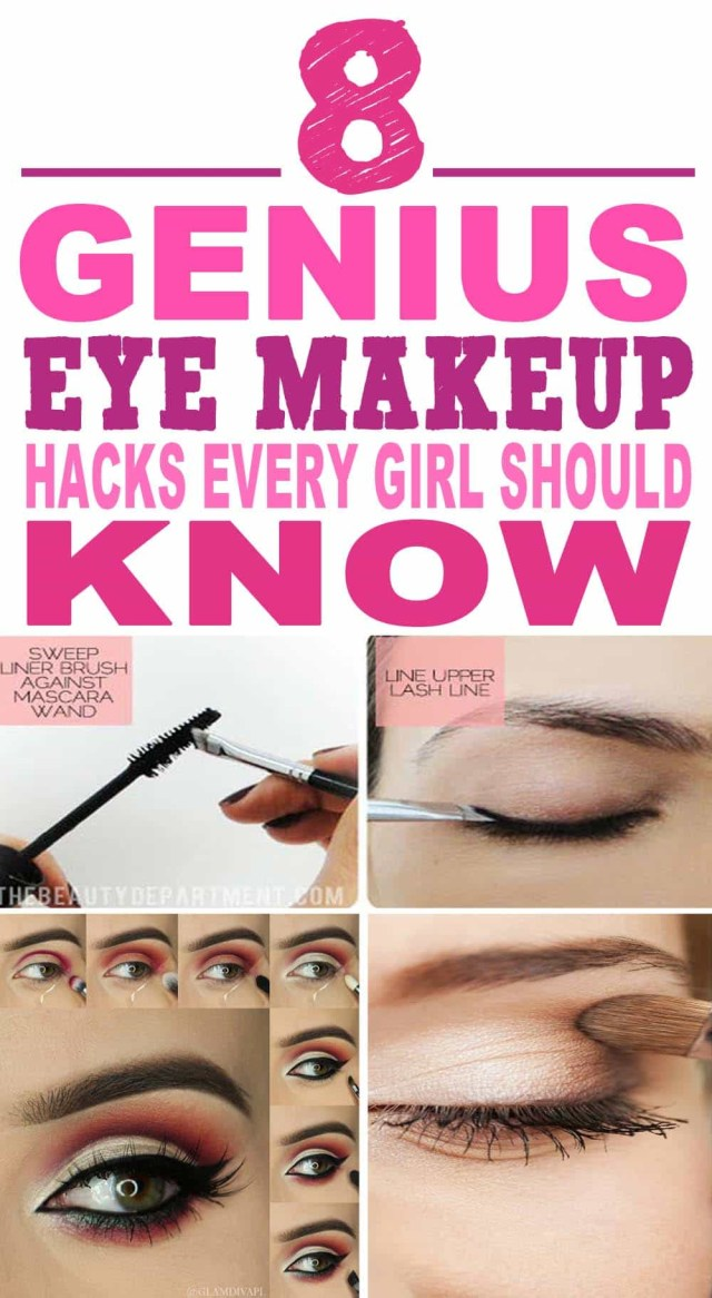Amazing Eye Makeup 8 Amazing Eye Makeup Hacks That Are Borderline Genius Chasing Wish