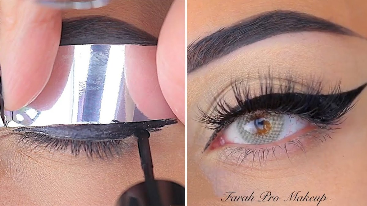 Amazing Eye Makeup Amazing Eye Makeup Tutorials A Little Trick For A Straight