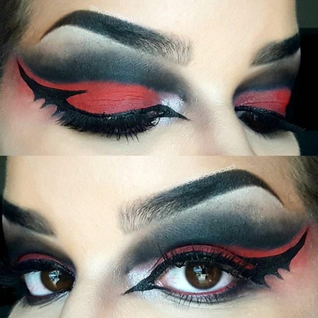 Bat Eye Makeup Bat Eyeliner Trend Popsugar Beauty Uk