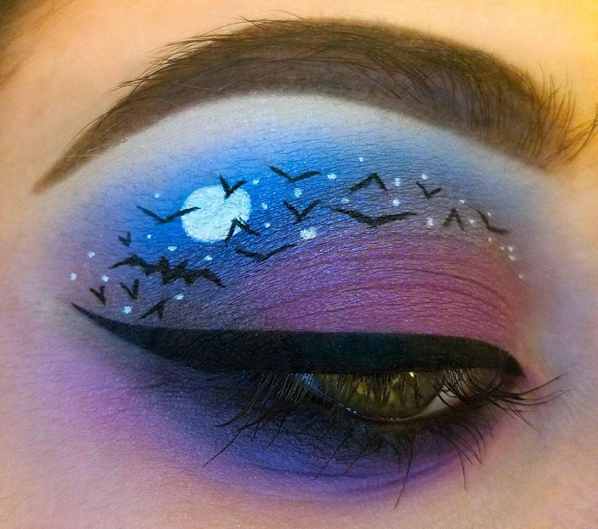 Bat Eye Makeup Bat Makeup Imgur