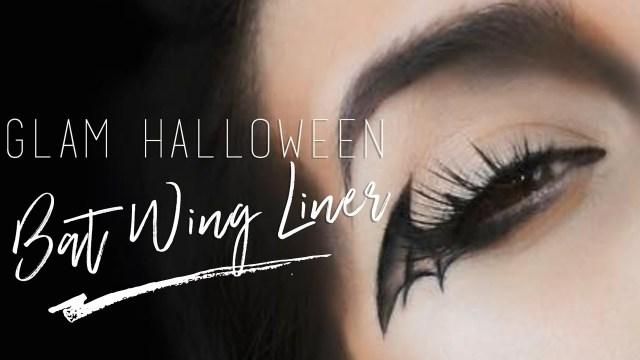 Bat Eye Makeup Bat Wing Glam Halloween Makeup Tutorial Msquinnface Youtube