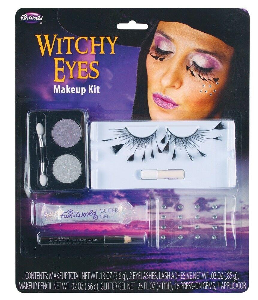 Bat Eye Makeup Witchy Eyes Makeup Kit 5679w Fun World 23168056795 Ebay