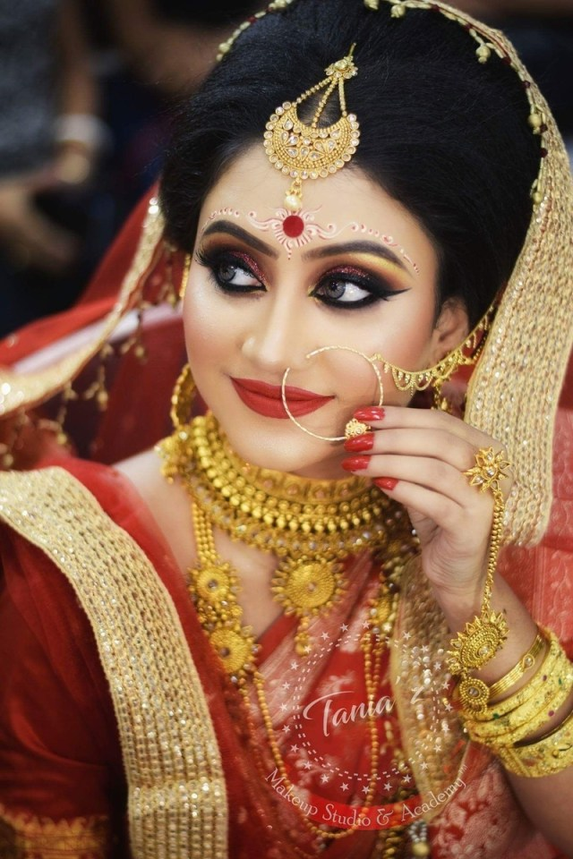 Bengali Eye Makeup Bengali Brides That Stole Our Hearts With Their Stunning Wedding