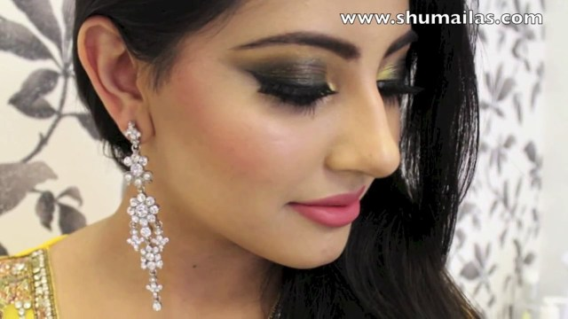 Bengali Eye Makeup Mehndi Makeup Tutorial Indian Pakistani Bridal Makeup Video