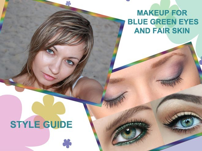 Best Eye Makeup For Pale Skin Best Eye Makeup For Blue Green Eyes And Fair Skin Style Guide