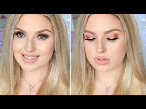 Best Eye Makeup For Pale Skin Makeup For Fair Or Pale Skin Glam Daytime Rose Gold Nudes