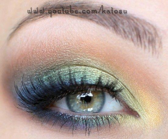 Blue Green Eyes Makeup Blue Green Eyes Makeup Eye Makeup