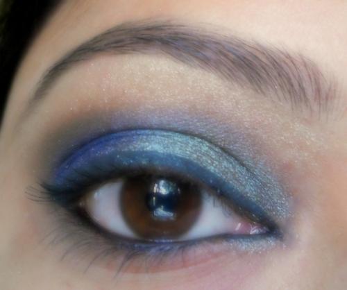 Blue Green Eyes Makeup Peacock Colors Eye Makeup Tutorial