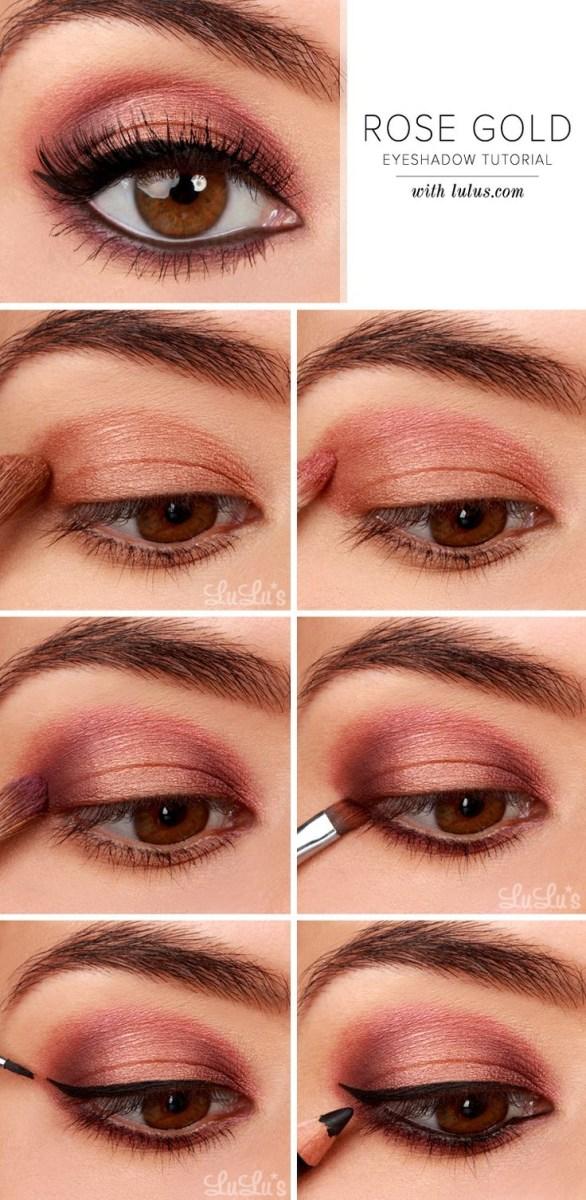 Brown And Purple Eye Makeup 27 Pretty Makeup Tutorials For Brown Eyes Styles Weekly